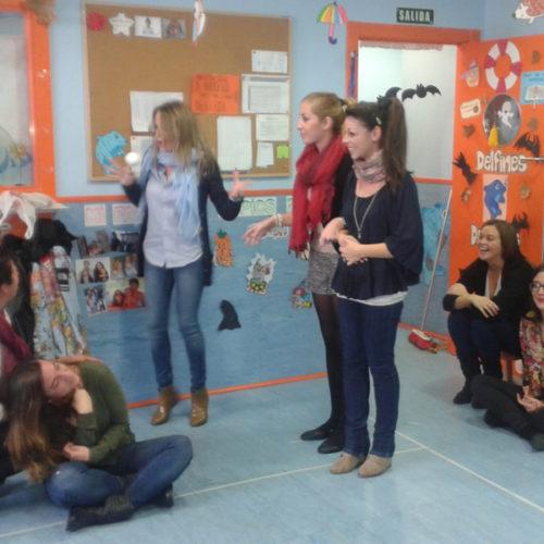 Taller de improvisación en nuestras escuelas infantiles Nemomarlin