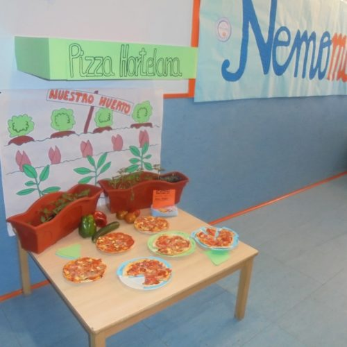 «Nemomarket», el mercado de la Escuela Infantil Nemomarlin Arganzuela