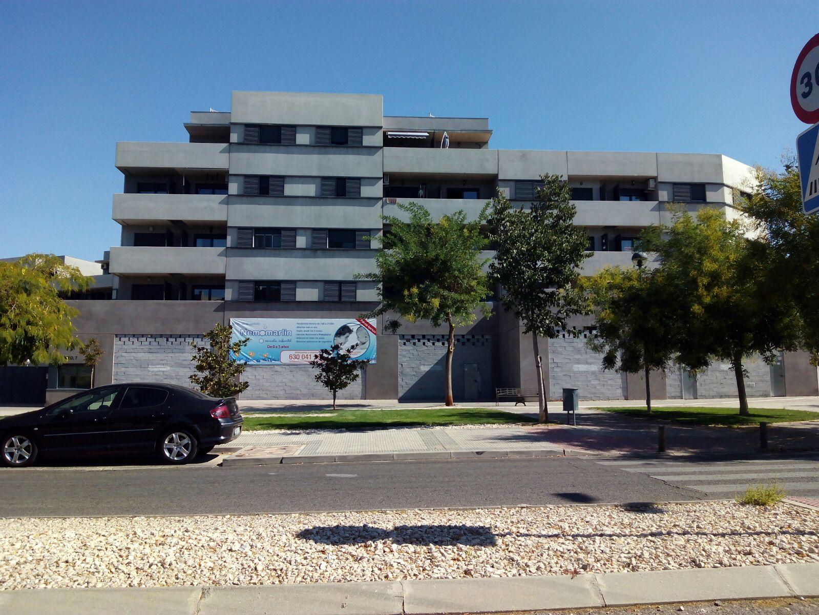 Foto fachada nueva escuela Nemomarlin Torrejón de Ardoz