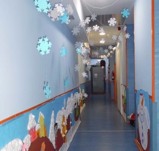 Ya es Navidad en las aulas de Nemomarlin
