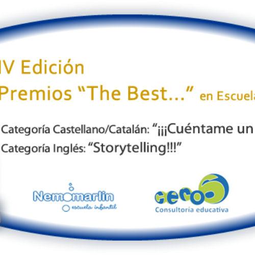"""Premios """"The Best…"""" 4ª Edición curso 16/17, escuelas Nemomarlin"""