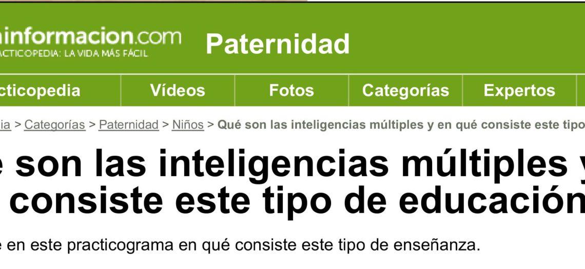 Qué son las inteligencias múltiples y en qué consiste este tipo de educación