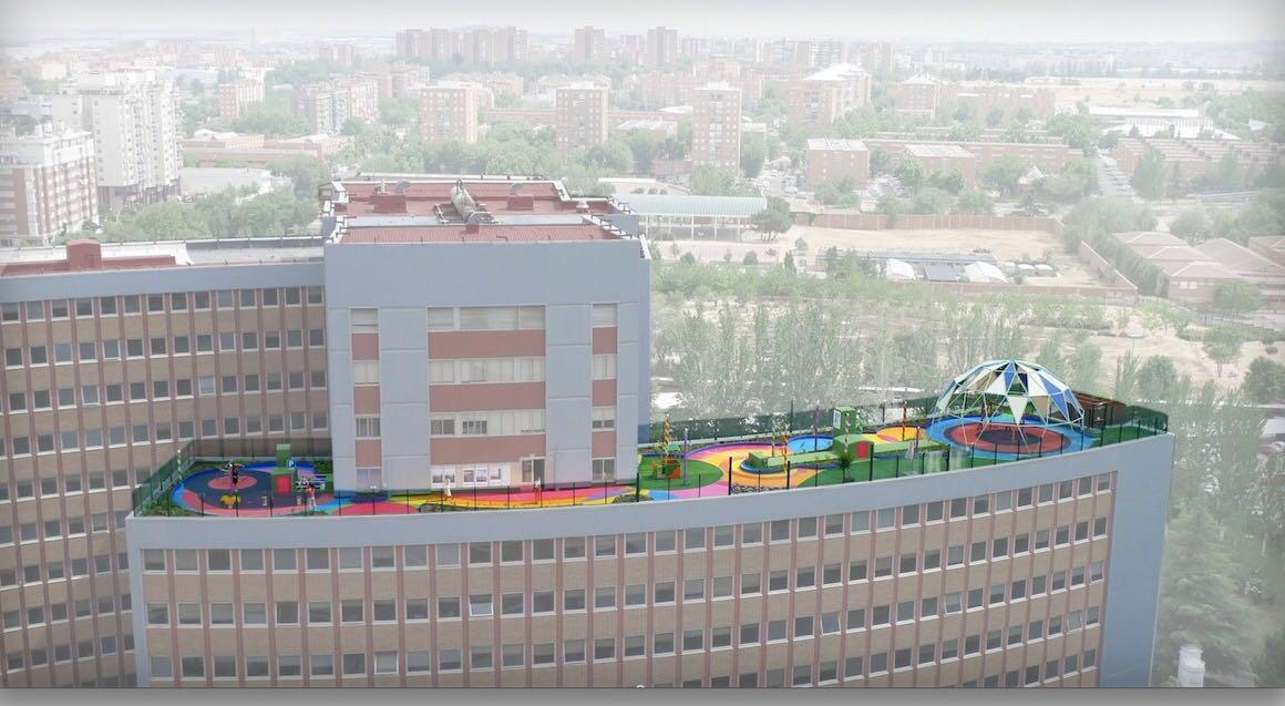 Foto Hospital 12 Octubre Jardin de mi Hospi