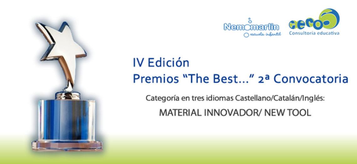 """IV EDICIÓN Premios «The Best…"""" 2ª Convocatoria"""