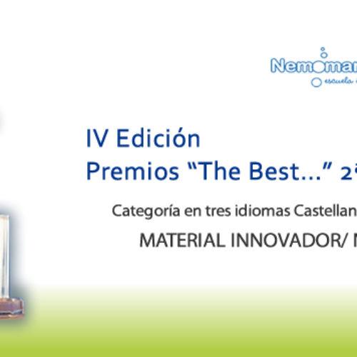 """IV EDICIÓN Premios """"The Best…"""" 2ª Convocatoria"""