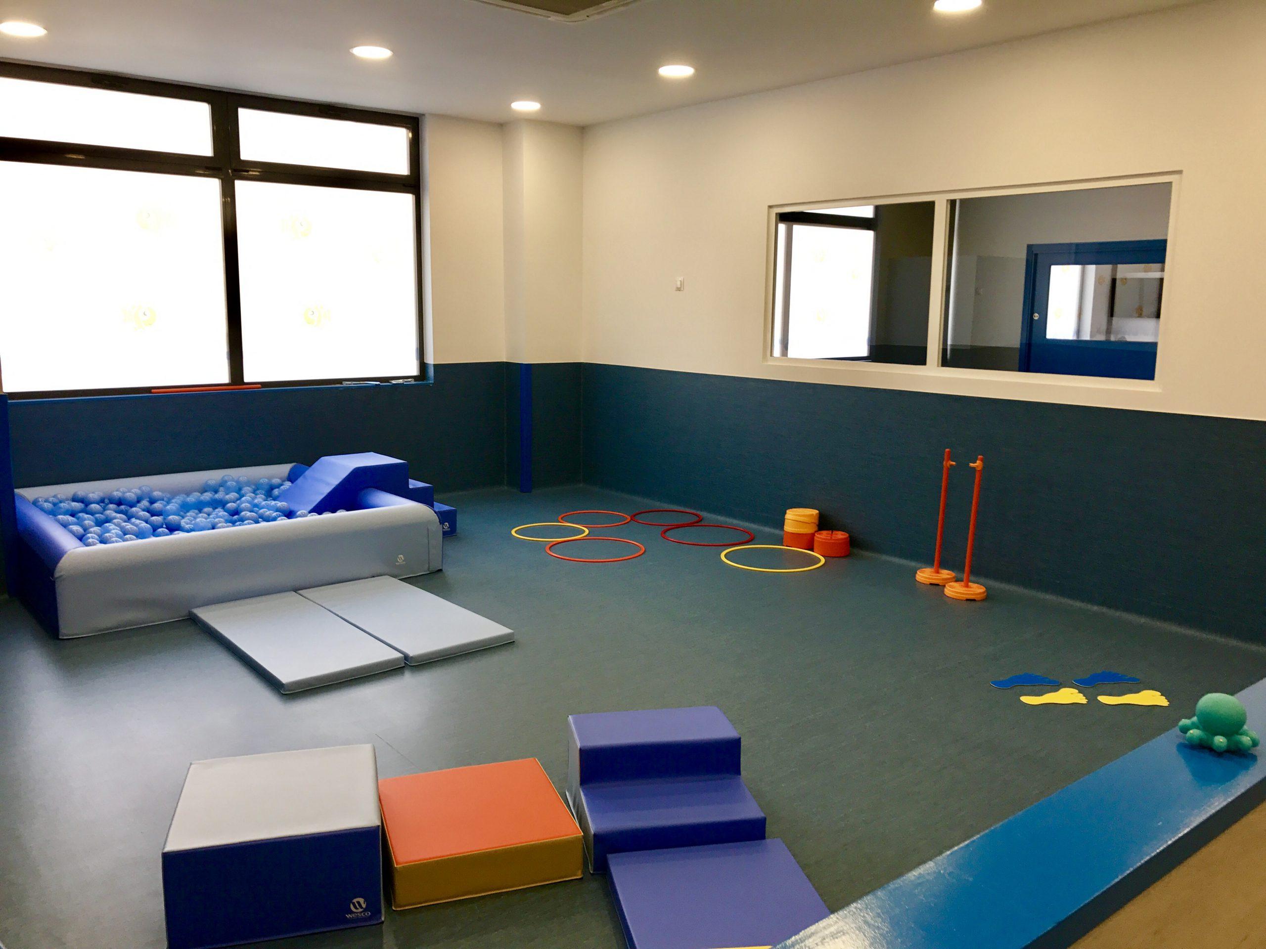 Aula psicomotricidad Guarderia Nemomarlin Alcobendas