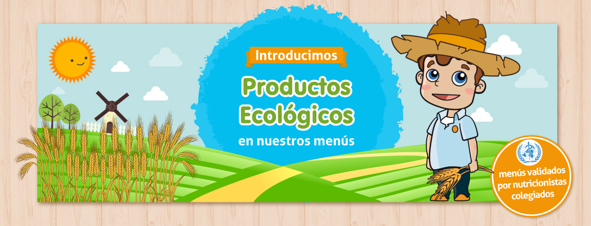 nutrición ecológica en guarderias Nemomarlin