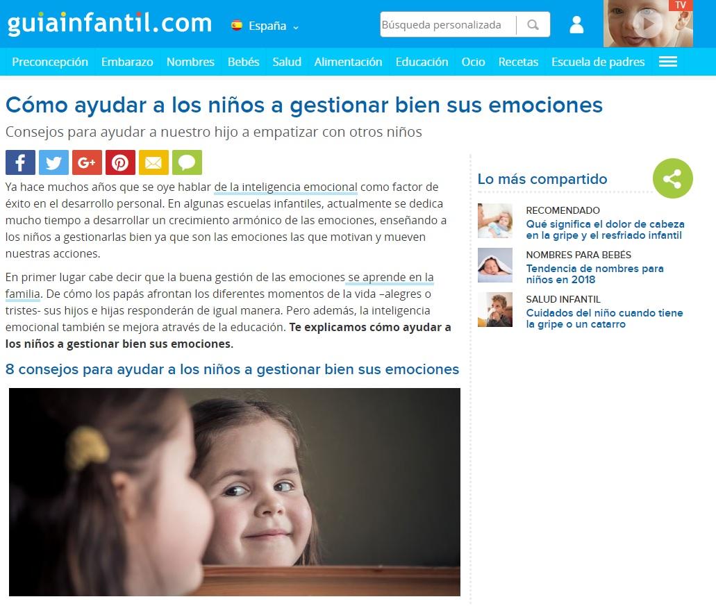 noticia como ayudar niños a gestionar bien sus emociones- guarderia Nemomarlin Sant Cugat