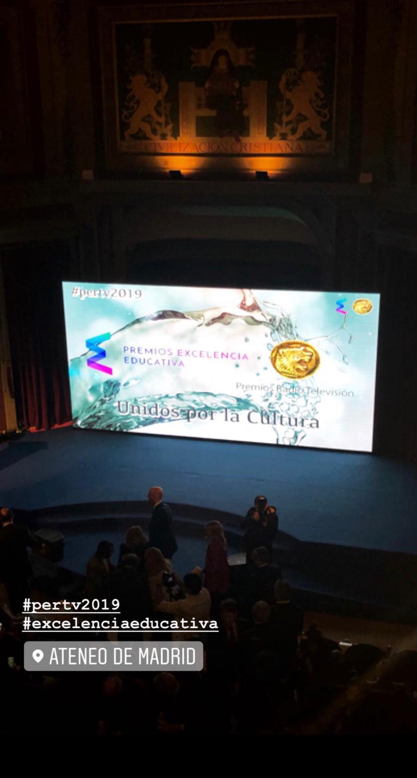 Premio excelencia educativa 2019 a Nemomarlin Escuelas Infantiles