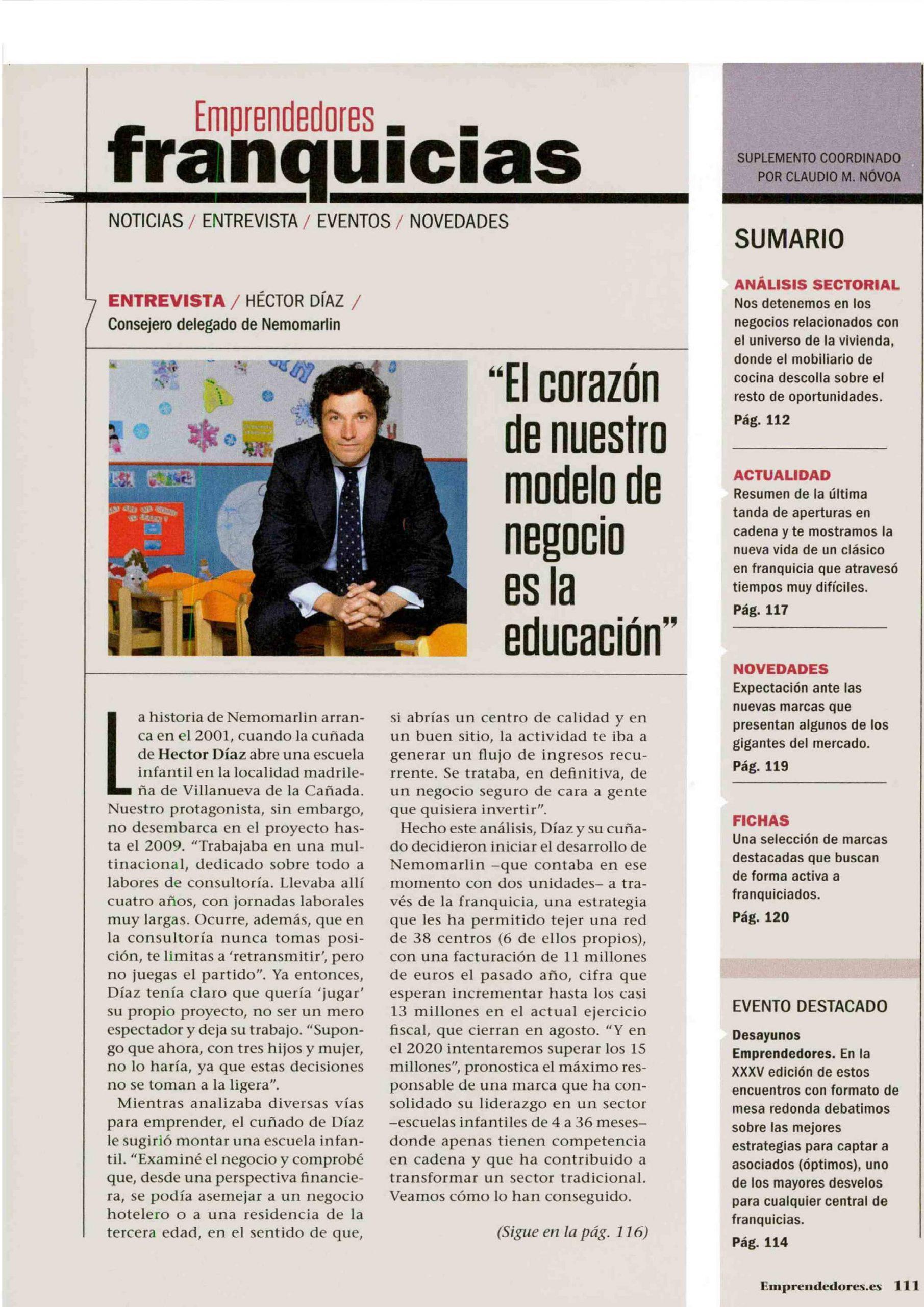 Entrevista Nemomarlin mayo 2019 revista emprendedores 1