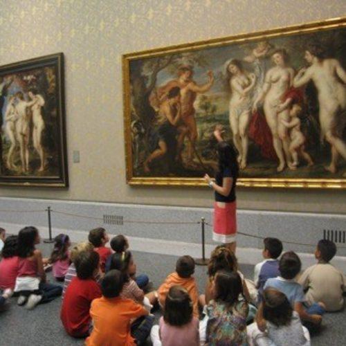 Beneficios de acercar el arte a los mas pequeños