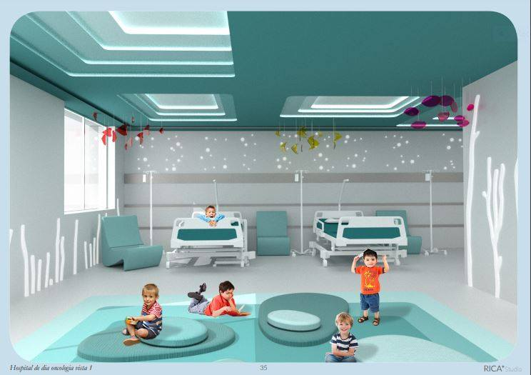 Hospital de día oncología vista 1