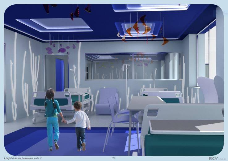 Hospital de Día Polivalente vista 2