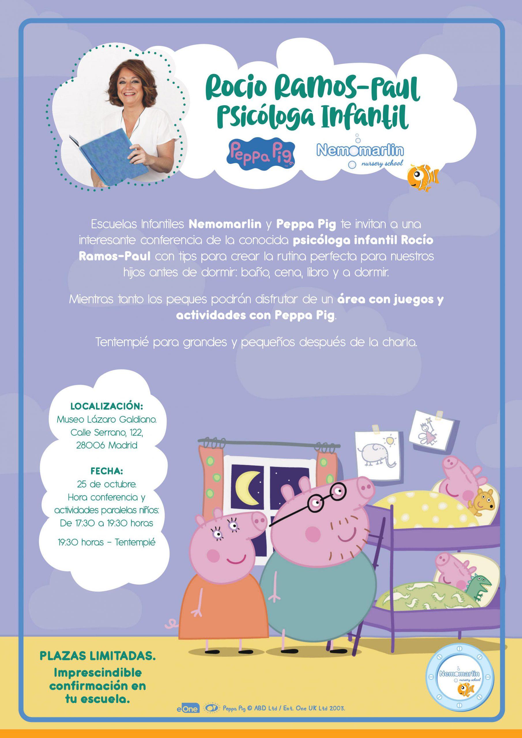 evento peppa pig y guarderias Nemomarlin