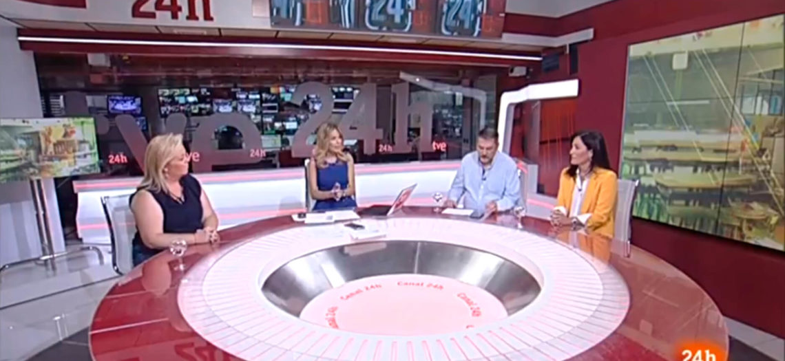 Participación directora Nemomarlin en el canal 24 horas de TVE
