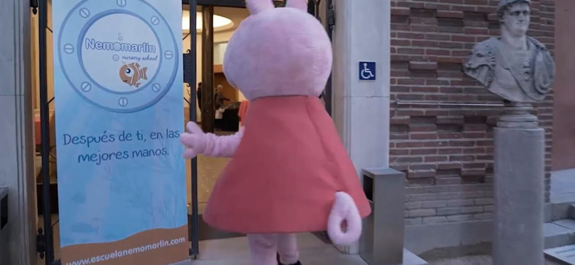 Vídeo resumen evento Peppa Pig y Nemomarlin Escuelas Infantiles