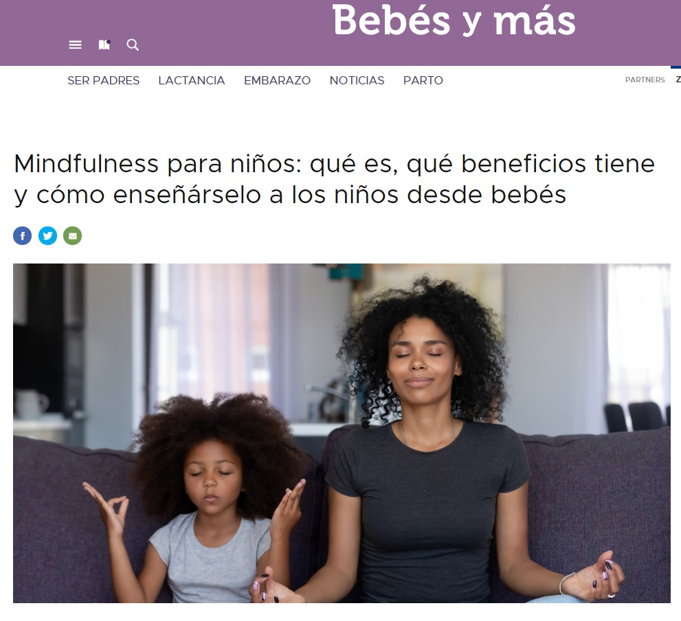 aparicion prensa Nemomarlin, mindfulness en bebes