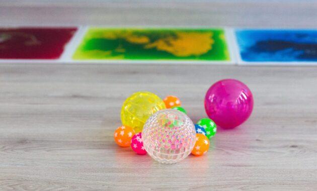 Material sensorial Escuela Infantil Nemomarlin