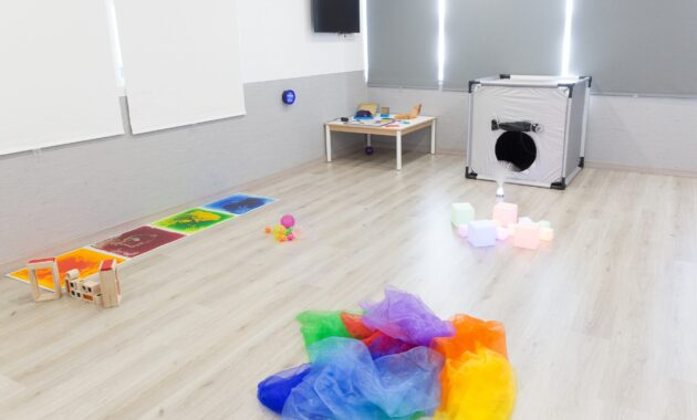 Aula Multisensorial Escuela Infantil Nemomarlin