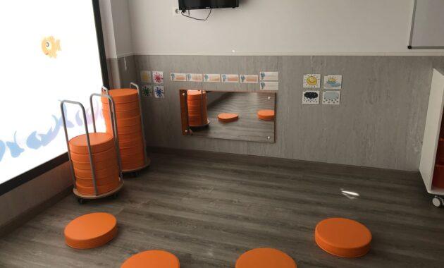 Aula 2 a 3 años Escuela Infantil Nemomarlin