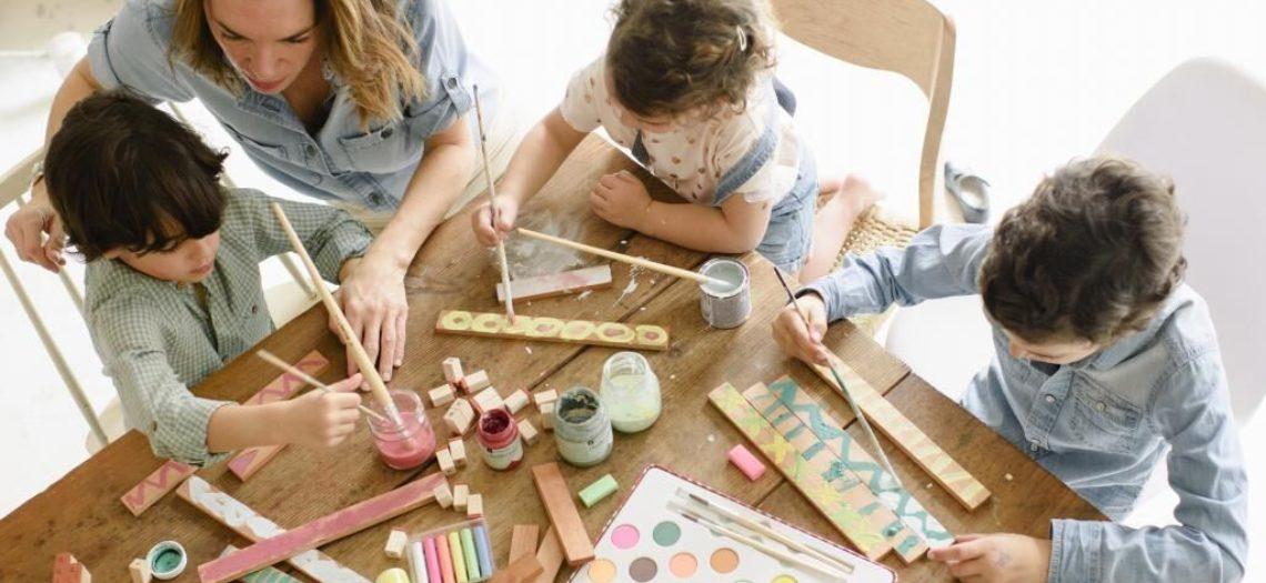 Manualidades para hacer con niños durante periodo confinamiento coronavirus