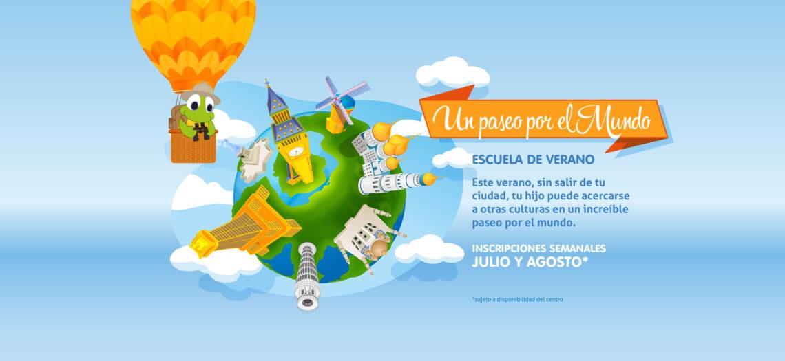 Summer camp «Un paseo por el mundo»