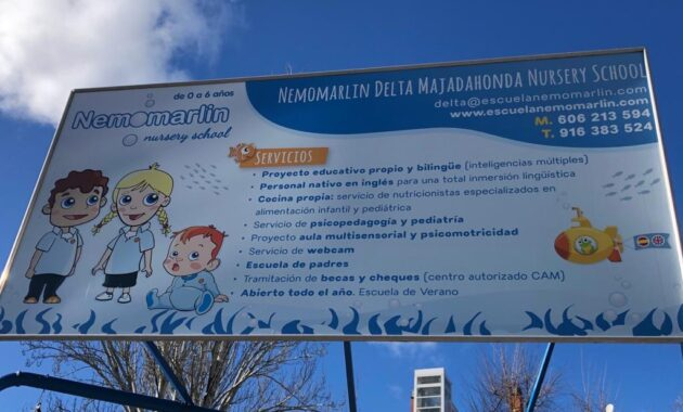 Niño Guardería Majadahonda Nemomarlin Delta
