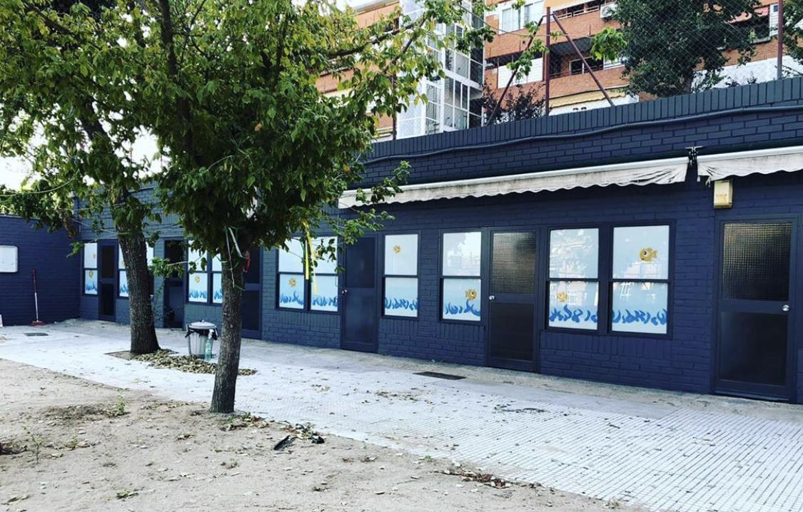 Fachada nueva Escuela Infantil Nemomarlin Majadahonda Delta