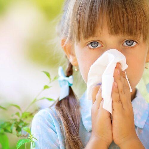 Cada vez son más los niños con alergias