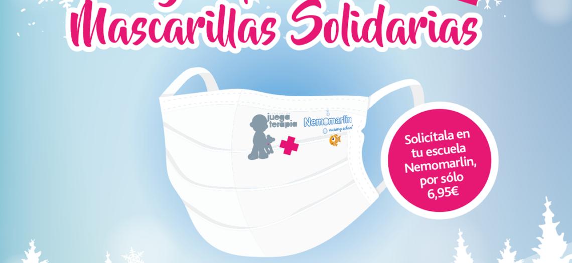 """""""Mascarillas solidarias"""" con Juegaterapia"""