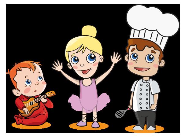 personajes escuela de padres_ una escuela de talentos_ escuelas infantiles nemomarlin